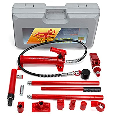 XtremepowerUS Hydraulic Porta Power Auto Body Frame Repair Kit ( 10 Ton or 4 Ton)