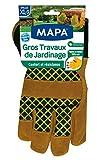 Mapa – Guantes de jardinería grandes trabajos de jardinería de piel y forro...