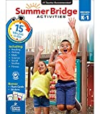Summer Bridge Activities Workbook—Grades K-1 Reading, Writing, Math, Science, Social Studies, Fitness Summer Learning Activity Book With Flash Cards (160 pgs)