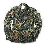 Mil-Tec German Flecktarn Camouflage Pattern Fatigue Field Shirt (42 inch - Short (GR4))