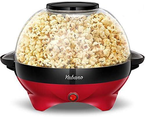 731 opinioni per Yabano Macchina Popcorn, 5L Macchina per Pop Corn con Rivestimento con