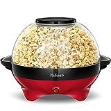 Yabano Macchina per Popcorn, 5L Popcorn Machine Automatico con Rivestimento Antiaderente,...