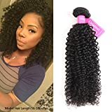 Original Queen 100% Brazilian Unprocessed Virgin Kinky Curly Human Hair Weave 1 Bundle Deep Curly Hair Extensions 24 Inches