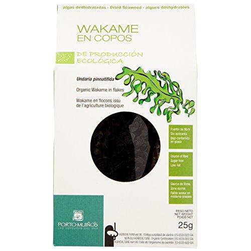 Porto-Muiños - Alga Wakame deshidratado Eco Porto Muiños 25 g