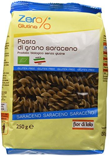 Zer% Glutine Fusilli Di Grano Saraceno - 250 Gr, Senza Glutine