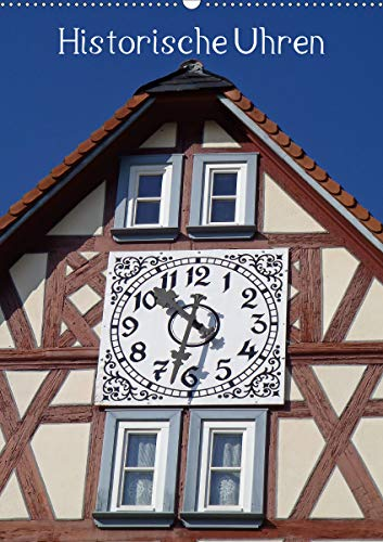 Historische Uhren (Wandkalender 2021 DIN A2 hoch)