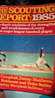 Scouting Report-1985 0060912456 Book Cover