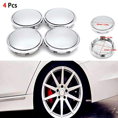 METAL STICKERS WHEELS CENTER CAPS Centro LLantas 4pcs Classic GT 1