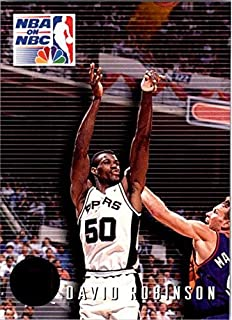1993-94 SkyBox Premium #9 David Robinson PO NBA Basketball Trading Card