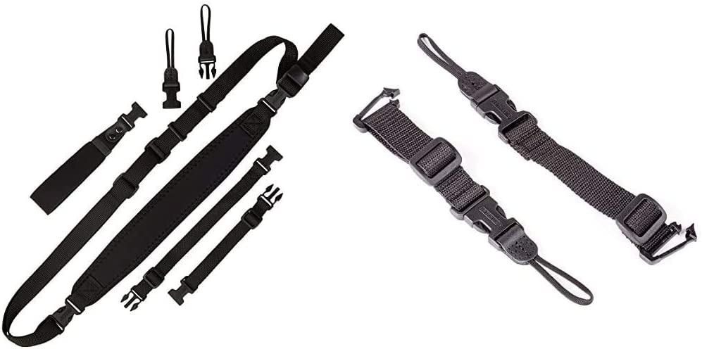 OP TECH USA 1001001 National products mart Super Classic Combo Camera Kit Strap Black