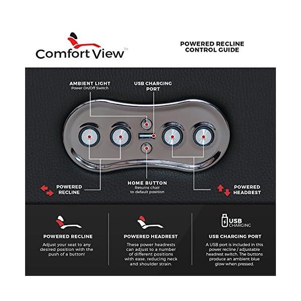 Seatcraft Anthem Home Theater Seating closeup headrest controls