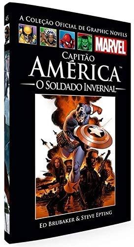 Capitão América: O Soldado Invernal (Coleção Oficial de Graphic Novels Marvel, n°45)