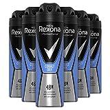 Rexona Cobalt Desodorante Spray Men (6unidades, 6x 150ml)