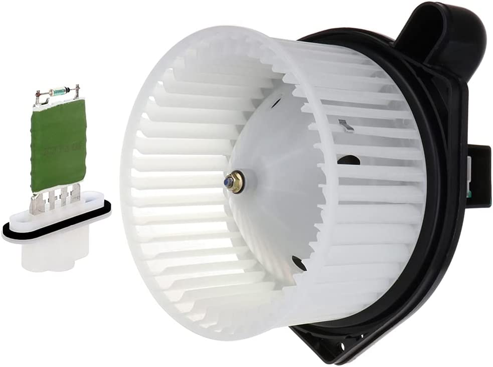 Inventory cleanup Soldering selling sale SCITOO ABS plastic Heater Blower Motor w Resistors HVAC Fan Blow