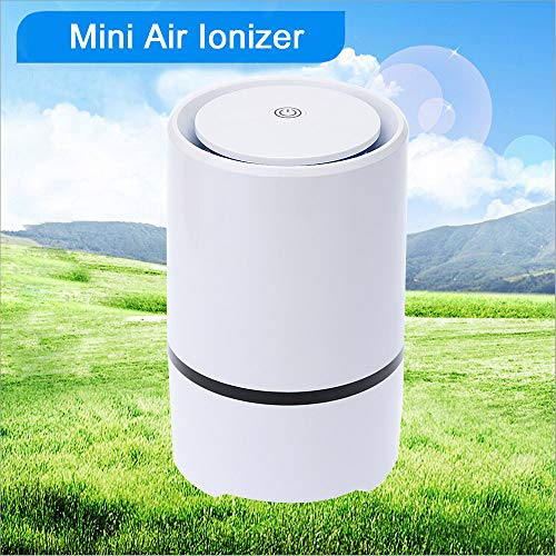 Luchtreiniger, Kan USB Negatieve Ionen Desktop Draagbare Lucht Ionisator Luchtreiniger De Onaangename Geur Van Sigarettenrook Stof Pollen Te Verwijderen