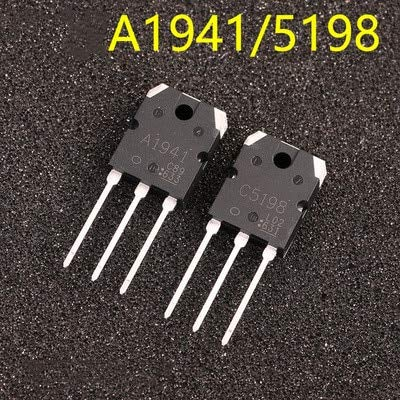 2 STÜCKE 1 Paar 2SC5198 2SA1941 TO3P (1 STÜCK A1941 + 1 STÜCK C5198) TO-3P Transistor original authentisch
