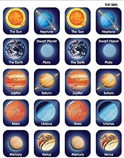 Teacher Created Resources Planets Stickers, Multi Color (TCR-1800)