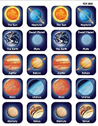 Teacher Created Resources Planet Stickers