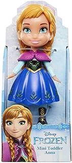 "Disney Princess Poseable Anna Movie Dress Mini Toddler Frozen Doll 3"""