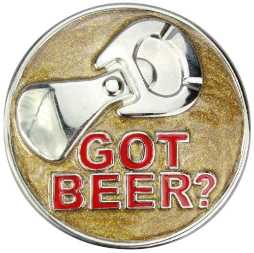 Alex Flittner Designs Boucle de Ceinture | Motif: got Beer
