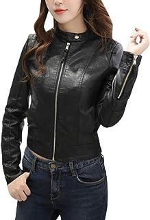 09f893b2f Amazon.fr : veste simili cuir femme