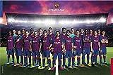POSTER STOP ONLINE FC Barcelona - Soccer Poster (Team Photo - Season 2019/2020) (Size 36 x 24')