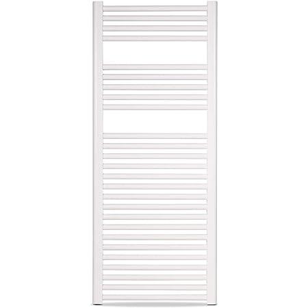 Porte-serviettes chauffant radiateur s/èche-serviettes chauffage et s/échage Rapides Blanc chauffe-serviettes /électrique Intelligent pour Salle de Bain
