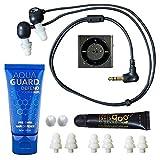 Underwater Audio 100% Waterproofing Compatible with iPod Shuffle, Swimbuds Flip, AquaGuard, and Fitgoo (Space Gray) (Renewed)