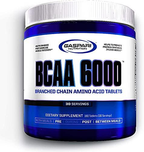Gaspari Nutrition BCAA 6000 Aminoacidi Essenziali