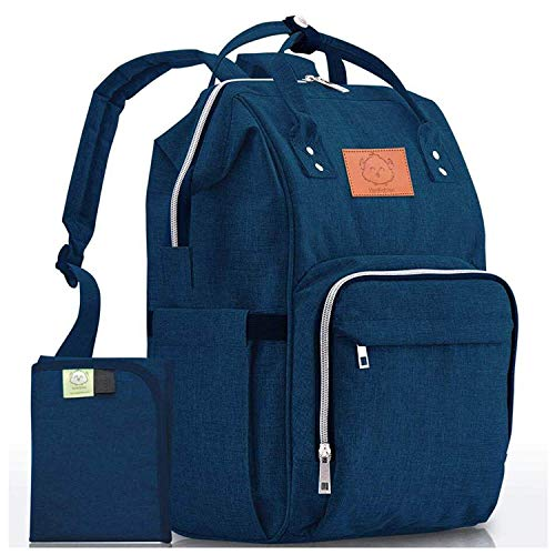 Diaper Bag Backpack - Large Waterproof...