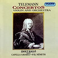 Concertos for Violin & Orchestra by Georg Philipp Telemann (1995-09-14)