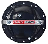 Proform 66668 Black Aluminum Differential Cover with Perfect Launch Logo and Bearing Cap S...