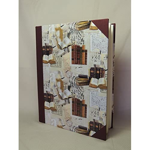 Album Foto Artigianale 23 x 30-30/50 fogli - serie Carte Classiche (B)
