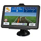 GPS Navigation for Car, Latest 2021 Map 7 inch Touch Screen Car GPS 256-8GB, Voice Turn Direction Guidance