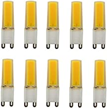 Led Bulbs, G9 Led Bulb, 3W (25W Halogen Equivalent), 200-220LM,AC 110 Volts, Non-Dimmable, G9 Light Bulbs for Home Lightin...