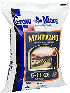 Grow More 9541 Mendocino Water Soluble Fertilizer 5-11-26, 25-Pound
