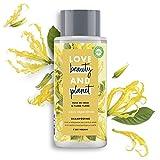 Love Beauty and Planet Shampooing Femme Vegan, Oasis Réparatrice, Huile de Coco Bio et Fleur d'Ylang Ylang, Cheveux Abîmés, Certifié Vegan, 400 ml