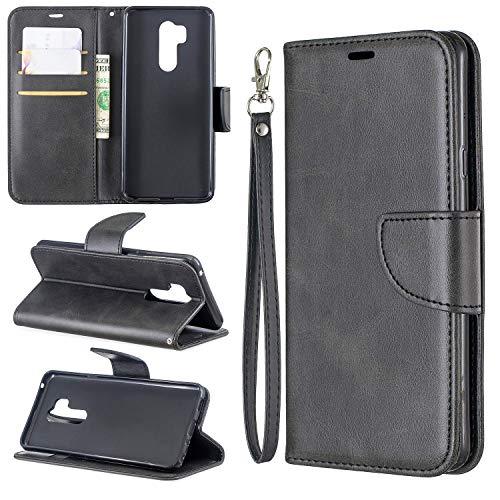 Cubierta de la caja del tirón del teléfono Estuche para LG G7 Multifuncional Cartera Teléfono Móvil Caja de cuero Premium Color Sólido PU Funda de cuero, Titular de la tarjeta de crédito Función Funci