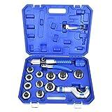 CT300AL Kit di piegatrice per tubi idraulici Expander Tool Expander Kit di tubi in rame per la piegatura di tubi e tubature