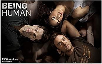 Being Human 8 x 10 Cast Photo Sam Witwer/Aidan Waite, Sam Huntington/Josh Levison, Meaghan Rath/Sally Malik Syfy Pic Lying Down Looking Up kn