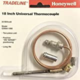 THERMOCOUPLE 18 INCH HONEYWELL REPLACEMENT FOR BOILERS, FURNACES, WATER HEATERS.