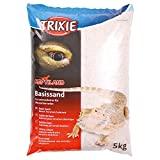 Trixie Arena básica para Terrarios, 5 kg, Blanca