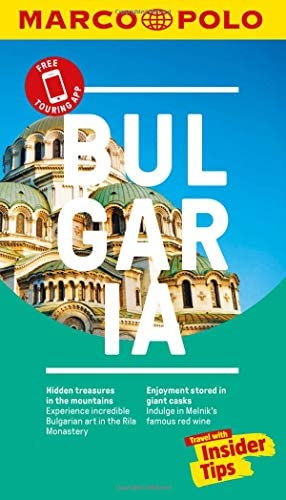Bulgaria Marco Polo Pocket Travel Guide with pull out map Marco Polo Pocket Guides product image