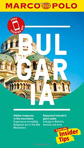 Bulgaria Marco Polo Pocket Travel Guide 2019 - with pull out map (Marco Polo Travel Guides) [Idioma Inglés]