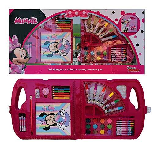 Maletín de colores Minnie Mouse Disney 30 piezas en caja regalo Tiempo...