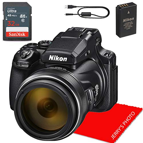 NikonCOOLPIX P1000 Digital Camera + 32GB Memory Bundle
