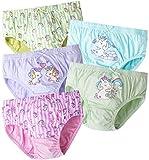 ORPAPA Unterhosen Mädchen, Kinder Höschen Baumwollene Unterwäsche 5er Pack Kleinkind Slip Schlüpfer Unterhosen 2-3 Jahre
