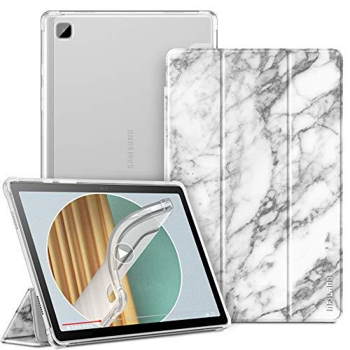 INFILAND Funda para Samsung Galaxy Tab A7 10.4 2020, TPU Suave Funda Transparente para Galaxy Tab A7 10.4 Pulgadas (T500/T505/T507) 2020, Mármol