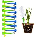 Mefeny Set de riego automático de 15 piezas, Sistema de riego de plantas ajustable adecuado para regar plantas de interior y exterior en vacaciones cortas.