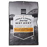 People's Choice Beef Jerky - Tasting Kitchen - Orange Honey Teriyaki - Camping Food, Backpacking Snacks, Road Trip Snacks - High Protein Low Sodium Healthy Snacks - 1 Pound, 16 oz - 1 Bag